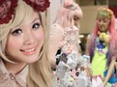 Japan¿s kitsch Kawaii trend hits the UK as teenagers reject miniskirts and fake tan for 'cute' animal outfits, piles of ruffles and sugary schoolgirl chic
