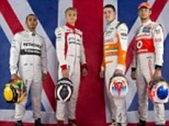 lewis hamilton and jenson button gear up for british gp at silverstone