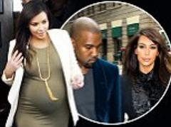 Kim Kardashian goes gaga over new daughter 'who weighed in at just under 5lbs'