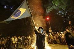 Brazil nationwide protest erupts into violence and chaos