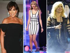 Kris Jenner, Taylor Swift and Demi Lovato Lead Today's Star Sightings