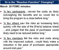 fomc decision - real fundamentals or reaction function