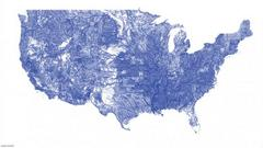 All Of America's Waterways On One Map [Infographic]
