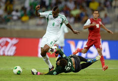 Stephen Keshi thankful as Nigeria emerge unscathed