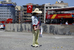 'standing man' inspires silent protest in turkey